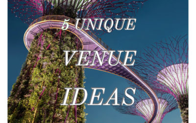 5 Unique Venue Ideas