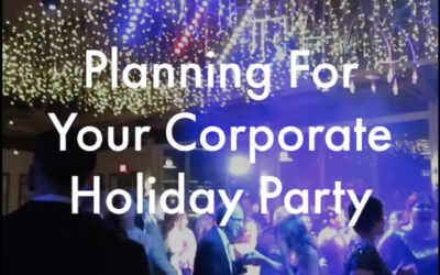 Planning Your Corporate Holiday Party